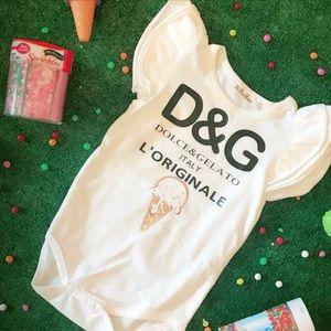 Dolce & Gelato 2T baby bodysuit